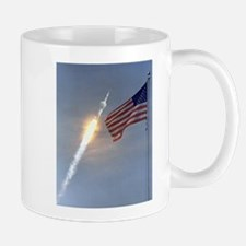 Apollo 11 Launch - Vintage Photo Mugs