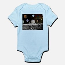 Solar System Montage of Voyager Images Body Suit