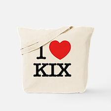 Kix kix Tote Bag