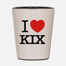 Funny Kix Shot Glass
