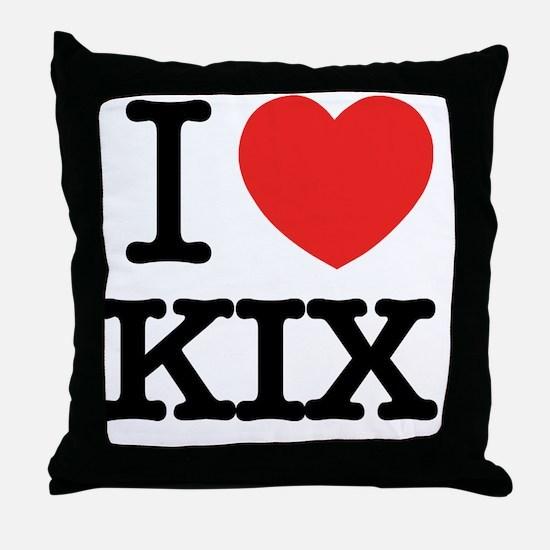 Kix Throw Pillow
