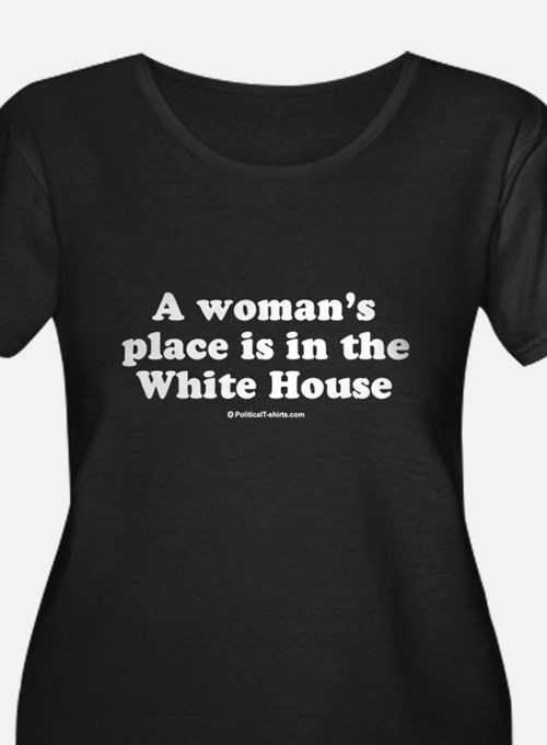 pwomanwhitehouse Plus Size T-Shirt