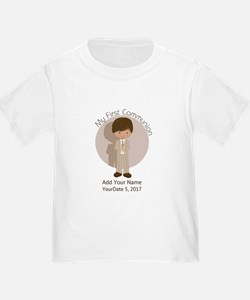 First Communion Brown Hair T
