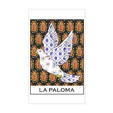 La Paloma Rectangle Decal