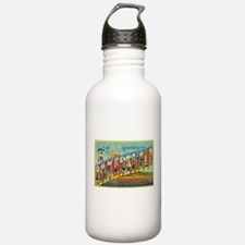 Greetings from Bakersfield, California Water Bottl