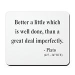 Plato 16 Mousepad