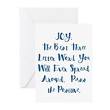 Inspirational quotes Greeting Cards (10 Pack)