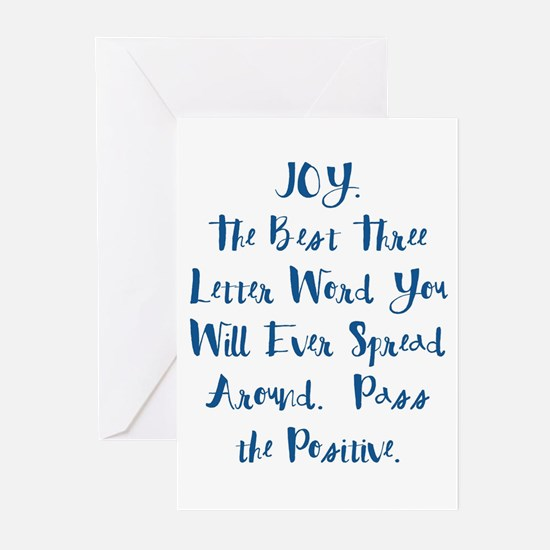 Joy Greeting Cards