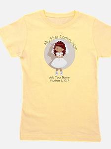 First Communion Redhead Girl's Tee