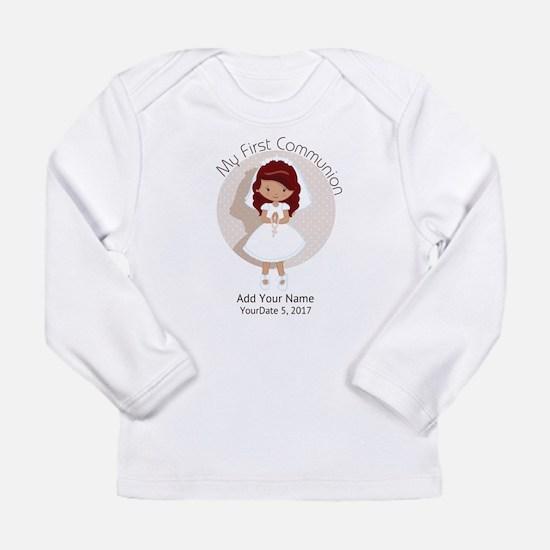 First Communion Redhead Long Sleeve Infant T-Shirt
