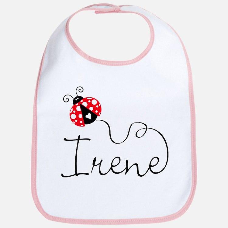 Ladybug Irene Bib