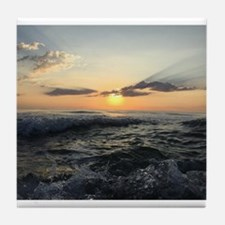Sunrise Serenity Tile Coaster