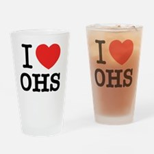 Unique Ohs Drinking Glass