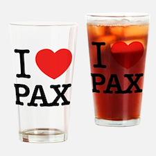 Cute Pax Drinking Glass