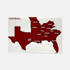 Southeastern Football Rectangle Magnet