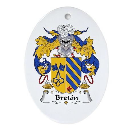 Bretón Oval Ornament