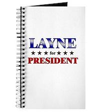 LAYNE for president Journal
