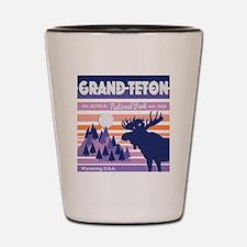 Cute Grand teton Shot Glass