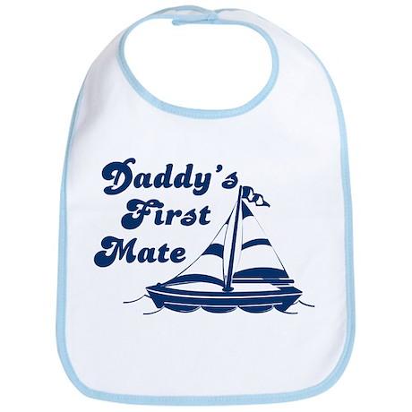 Daddy's First Mate Bib