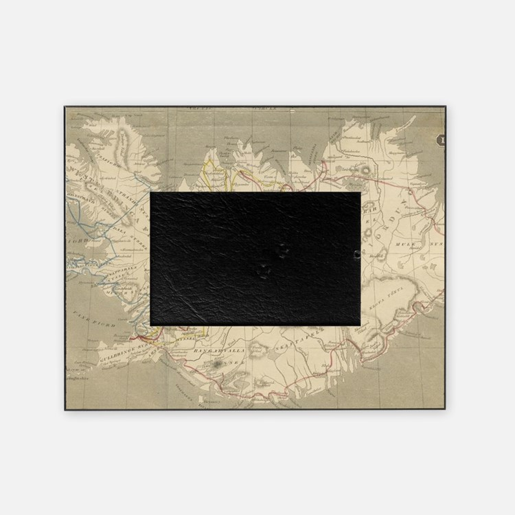 Cute Antique maps Picture Frame