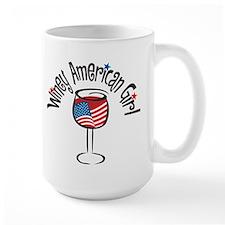Winey American Girl Mug