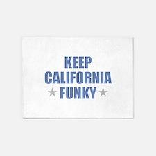 KEEP CALIFORNIA FUNKY 5'x7'Area Rug