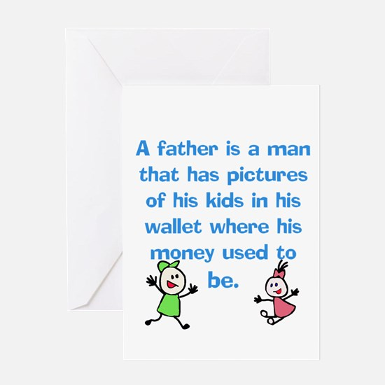 A Father is... Greeting Cards