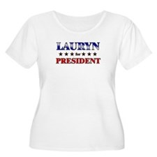 LAURYN for president T-Shirt