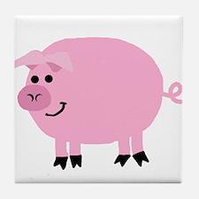 Piggy Tile Coaster