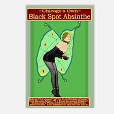 Black Spot Absinthe Postcards (Package of 8)