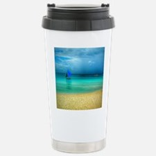 Beach Scene Photo 3 Travel Mug