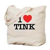 I love tink Regular Canvas Tote Bag