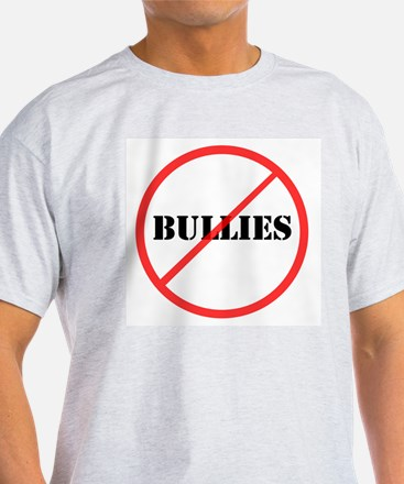 No Bullies Ash Grey T-Shirt