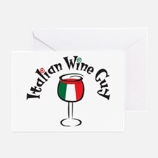 Italian Wine Guy Greeting Cards (Pk of 10)