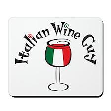 Italian Wine Guy Mousepad