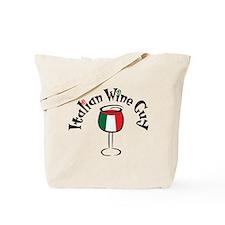 Italian Wine Guy Tote Bag