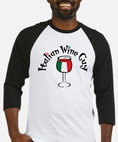 Italian Wine Guy Baseball Jersey