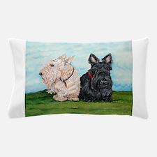 Scottish Terrier Companions Pillow Case