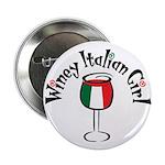 Winey Italian Girl Button