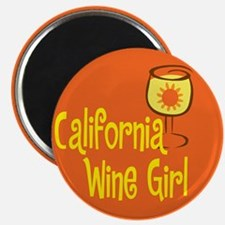 California Wine Girl Magnet