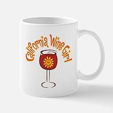 California Wine Girl Mug