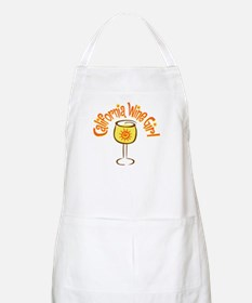 California Wine Girl BBQ Apron