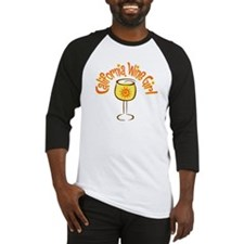 California Wine Girl Baseball Jersey