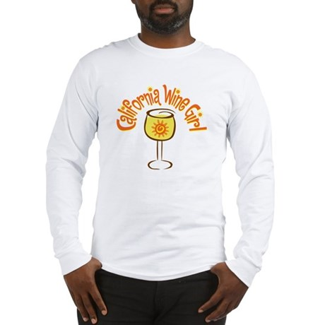 California Wine Girl Long Sleeve T-Shirt