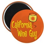 California Wine Guy Magnet