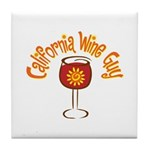California Wine Guy Tile Coaster