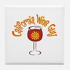 California Wine Guy Tile Coaster