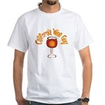 California Wine Guy White T-Shirt
