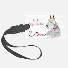 Wheatie Scottie Squirrels Luggage Tag