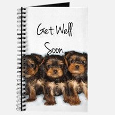 Get Well Yorkshire Terriers Journal
